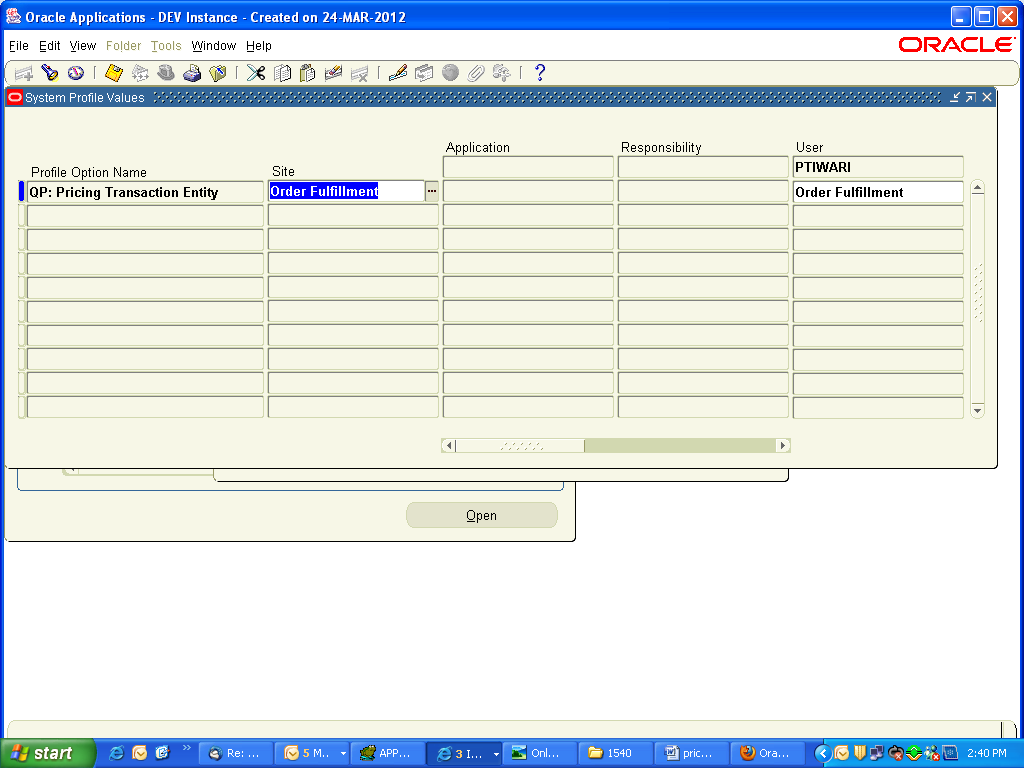 oracle apps elearning lab: sample code oracle price list api