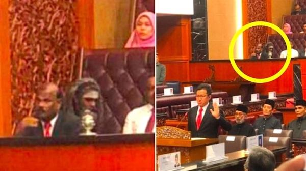 KSN Dedah 4 GAMBAR Makhluk Misteri Dalam Dewan Negara Yang Buat Ramai SERAM