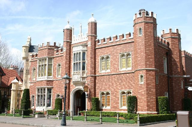 Pavilhão do Reino Unido no Epcot em Orlando