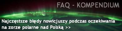 Przejdź do podstrony - Najczęstsze błędy nowicjuszy podczas oczekiwania na burze magnetyczne mogące przynieść zorze polarne nad Polskę