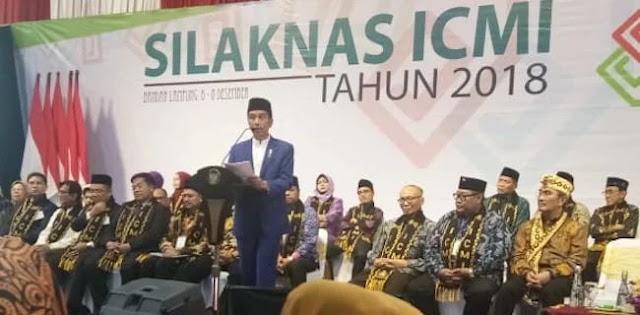 Jokowi Ingatkan Ormas Islam Jaga Persatuan