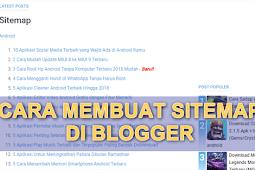 Cara Membuat Halaman Sitemap di Blogspot   Keren Banget