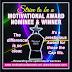 2018 prestigious Motivational Award categories, Nominees Voting List Out