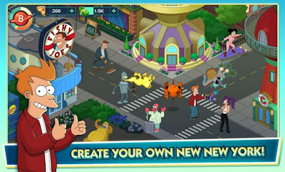 Futurama Worlds of Tomorrow MOD Pizza