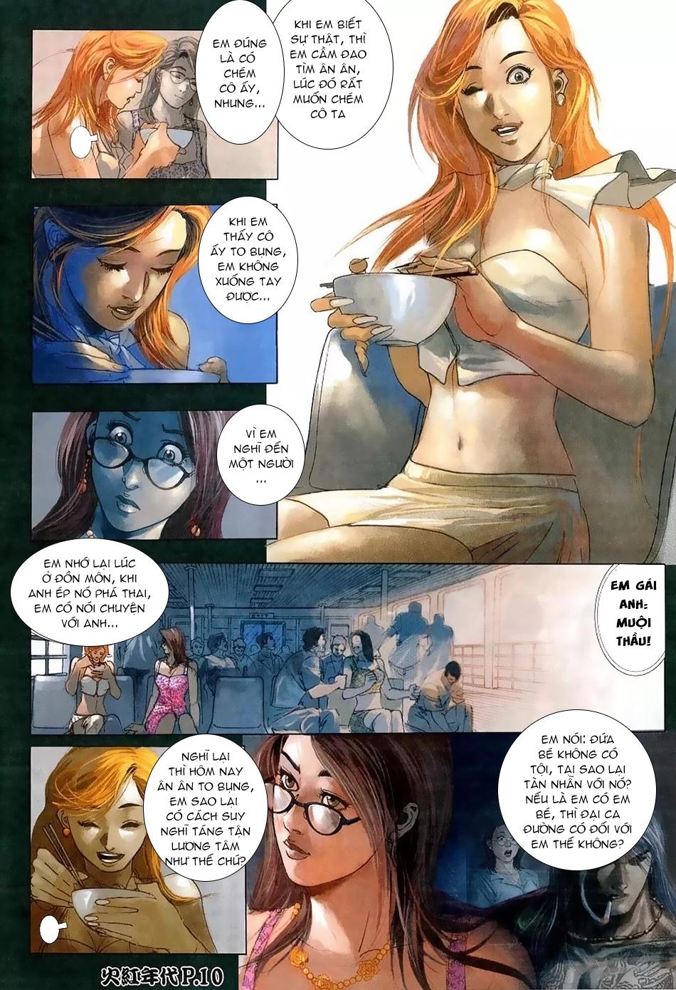 Hỏa Hồng Niên Đại Hắc Cốt Đường Chap 114 - Trang 8