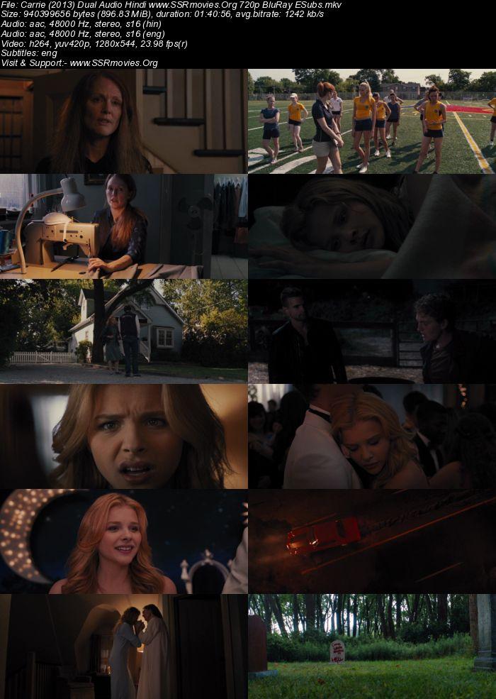 Carrie (2013) Dual Audio Hindi 720p BluRay
