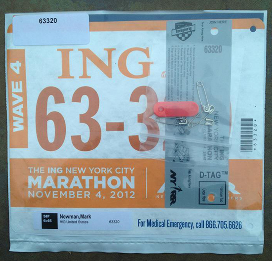 984466a107e 9. Ultramarathon bib. This one was the 2008 Knickerbocker 60K at Central  Park. To me it just represents being on the pavement for so many hours, ...
