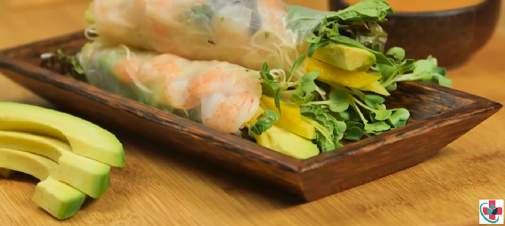 Avocado Shrimp Roll