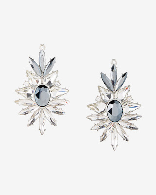 Express Stoneburst Drop Earrings $11 (reg $35)