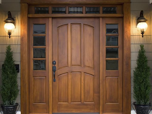 cửa gỗ sồi- mẫu 1