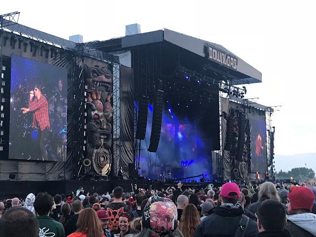 Avenged Sevenfold at Download UK 2018