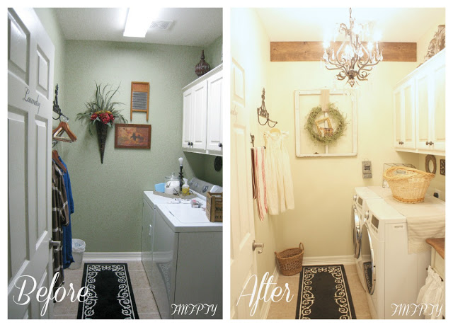 From My Front Porch To Yours Laundry Room Makeover