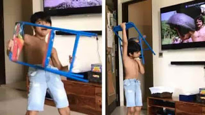 Shilpa Shetty son Viaan Kundra  Dance video Viral