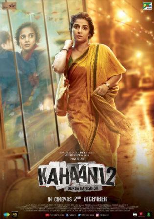 Kahaani 2 2016 DVDRip 300Mb Hindi Movie 480p