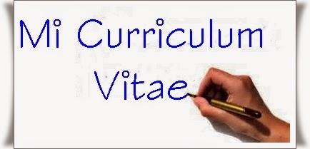 Mi Curriculum Vitae.