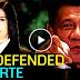 Watch: President Duterte, pinagtanggol ni Pinky Webb mula sa International media