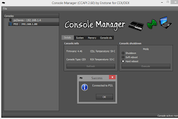 ControlConsoleAPI (CCAPI) v2.60 Rev 3 – 4.70 Custom Firmware (CEX) Support