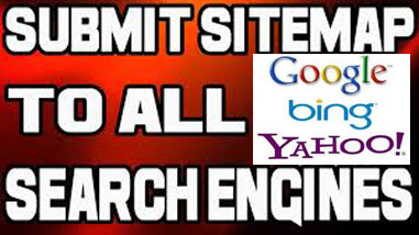 How to submit blogger and wordpress sitemaps to google webmaster, yahoo and bing search engines