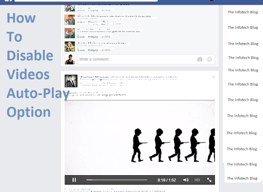 How to disable Video Auto-Play Feature on Facebook