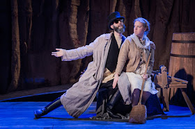 Timothy Murphy, Emma Stannard - Rimsky Korsakov May Night - Royal Academy Opera - photo Robert Workman