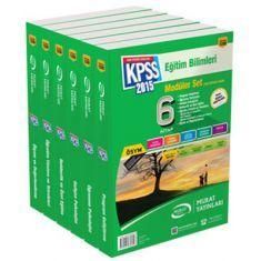Murat 2015 KPSS Eğitim Bilimleri Modüler Set Konu Anlatımlı 1200