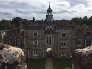 Knole from the tower