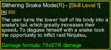naruto castle defense 6.3 Sage Kabuto Slithering Snake Mode detail