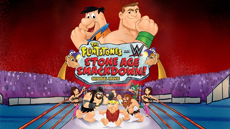 Flintstones, cartoon, WWE, Blu-ray, DVD, giveaway,