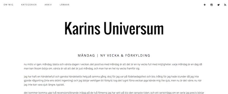 http://karinsuniversum.blogg.se/