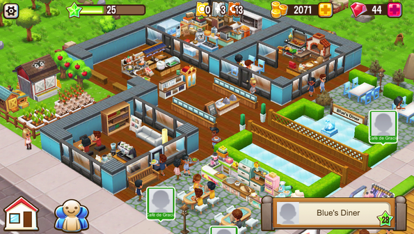 Food Street Restaurant Game mod apk