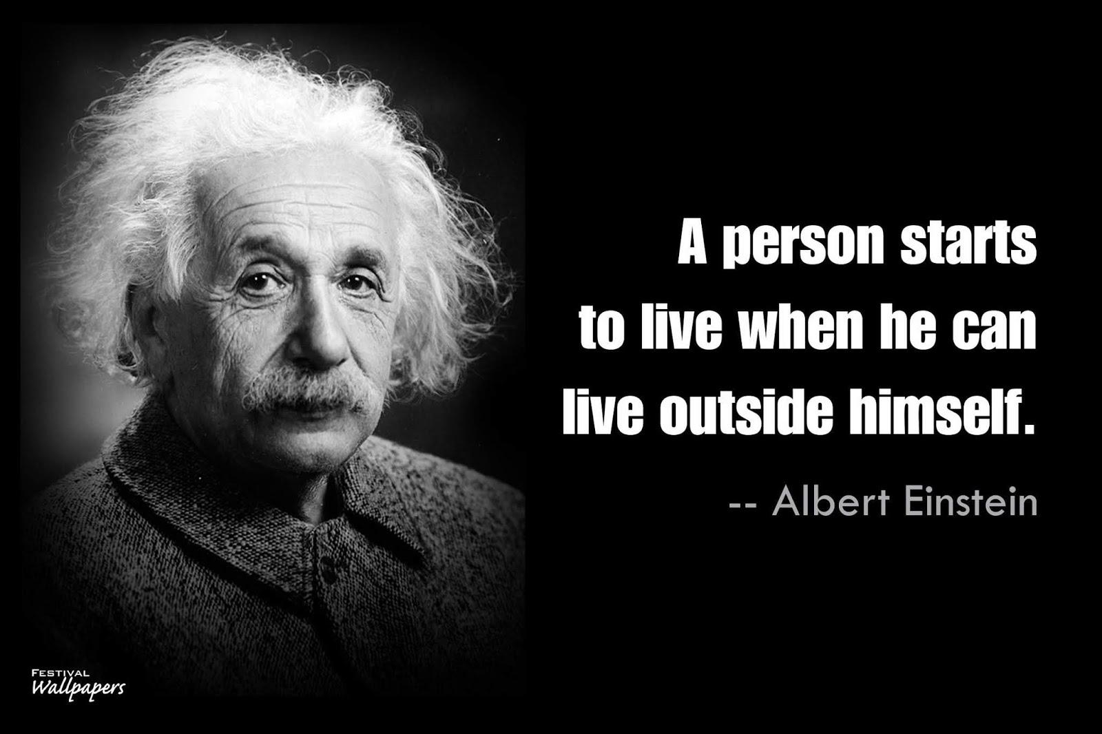 Albert Einstein Quotes On Life