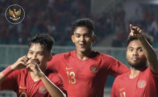 Timnas Indonesia U-19 Kalah 0-3 dari China