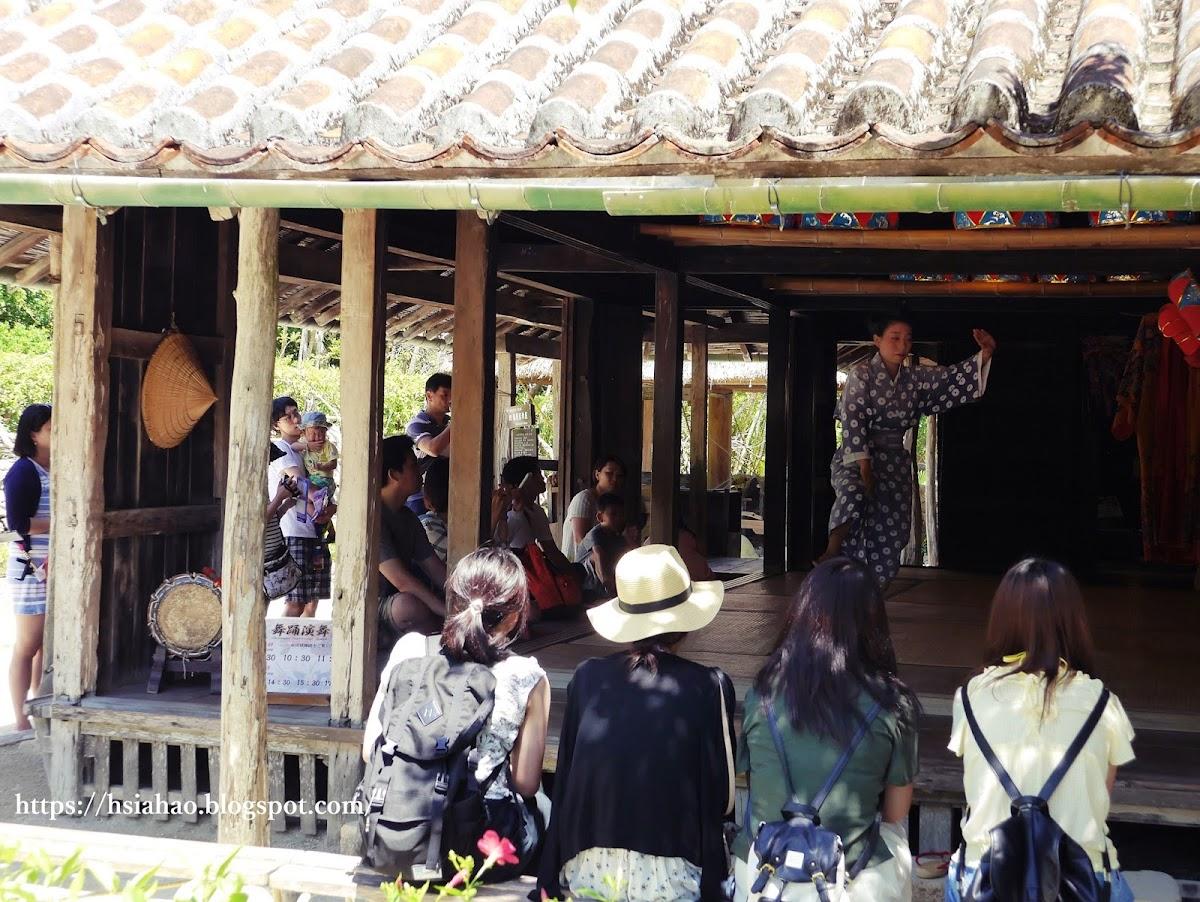沖繩-景點-中部-琉球村-表演-自由行-旅遊-Okinawa-Ryukyumura-performance