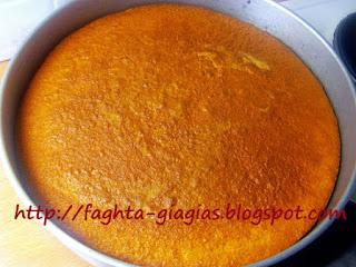 Πορτοκαλόπιτα με σιμιγδάλι - από «Τα φαγητά της γιαγιάς»