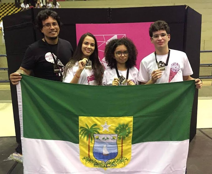Alunos do IFRN de São Paulo do Potengi ganham medalha de bronze na Olimpíada Nacional de História