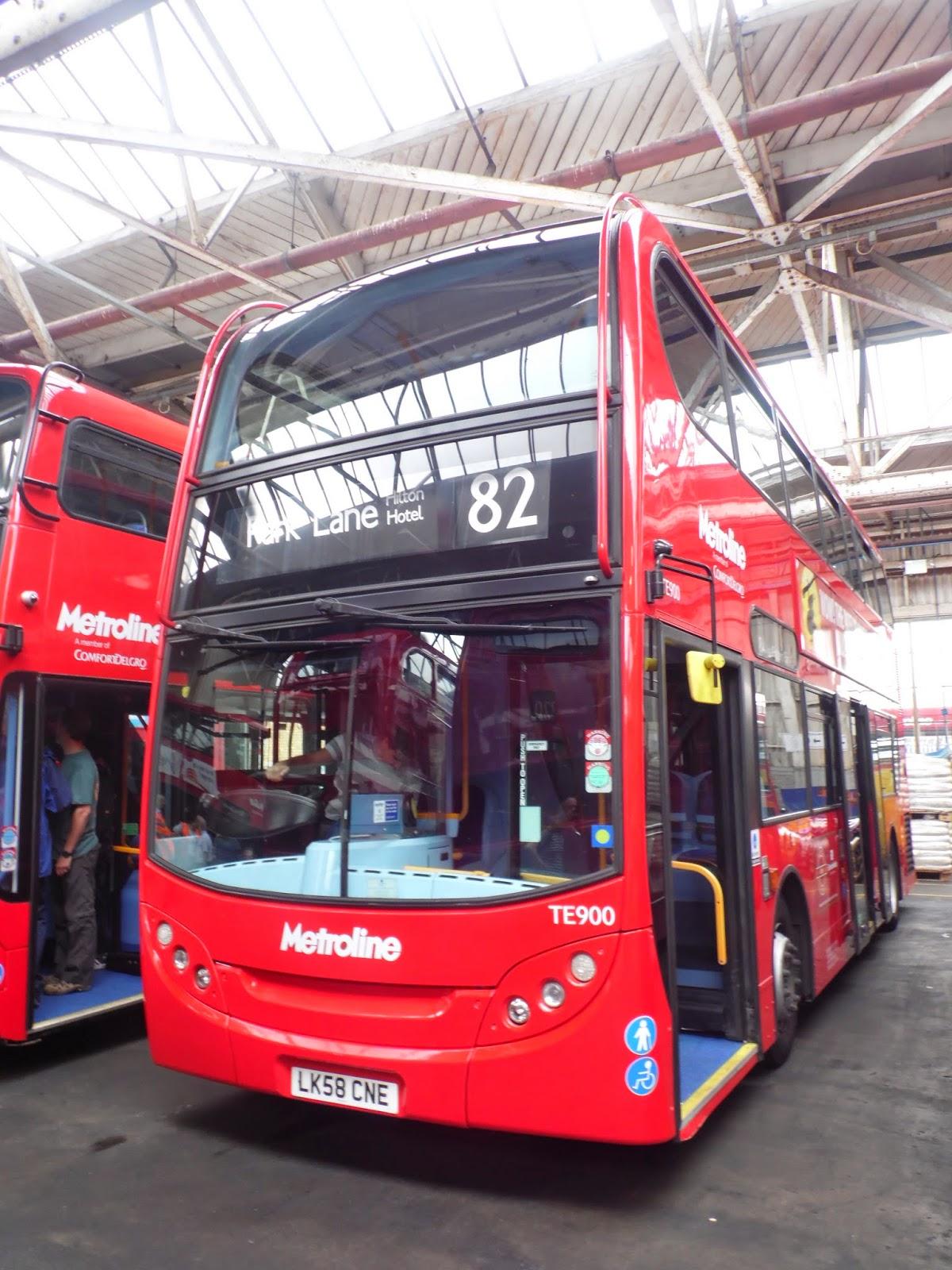 Tom London  Surrey Bus Blog Metroline Potters Bar Garage