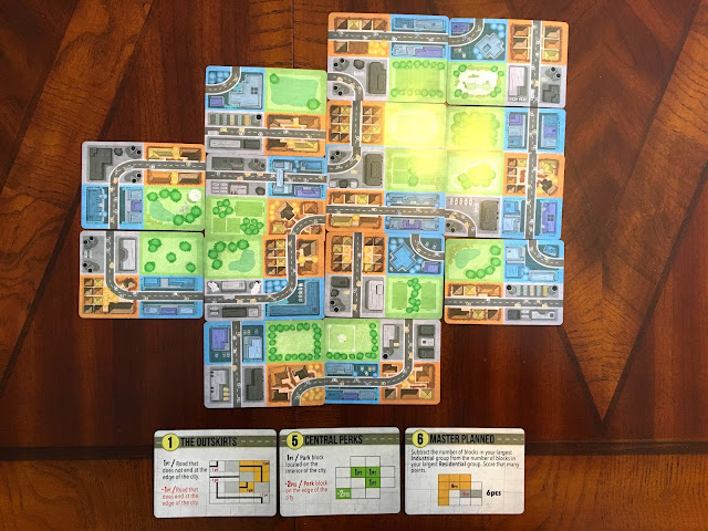 Sprawlopolis from Button Shy Games Review Scoring Final Wallet Game
