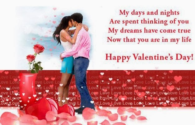 valentine greetings for lover