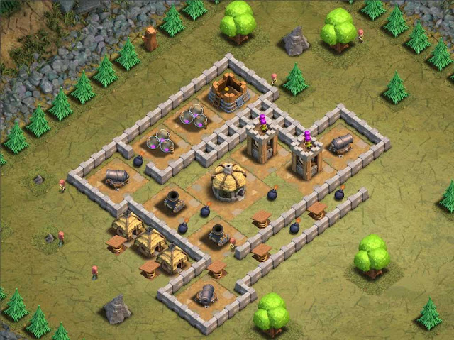 Goblin Base Clash of Clans Bouncy Castle