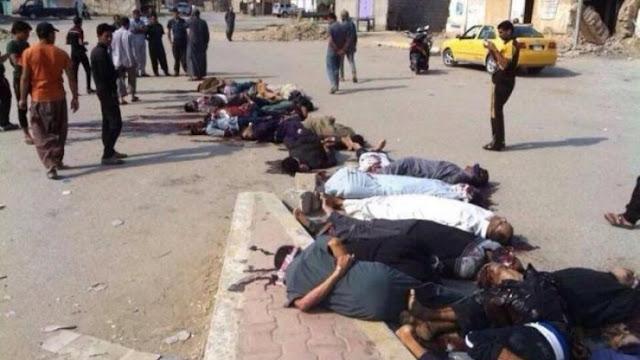 Ομαδικές εκτελέσεις και χημικά από τους τζιχαντιστές