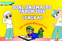 Download Soal UN SMA 2016 Jurusan IPS All Mapel