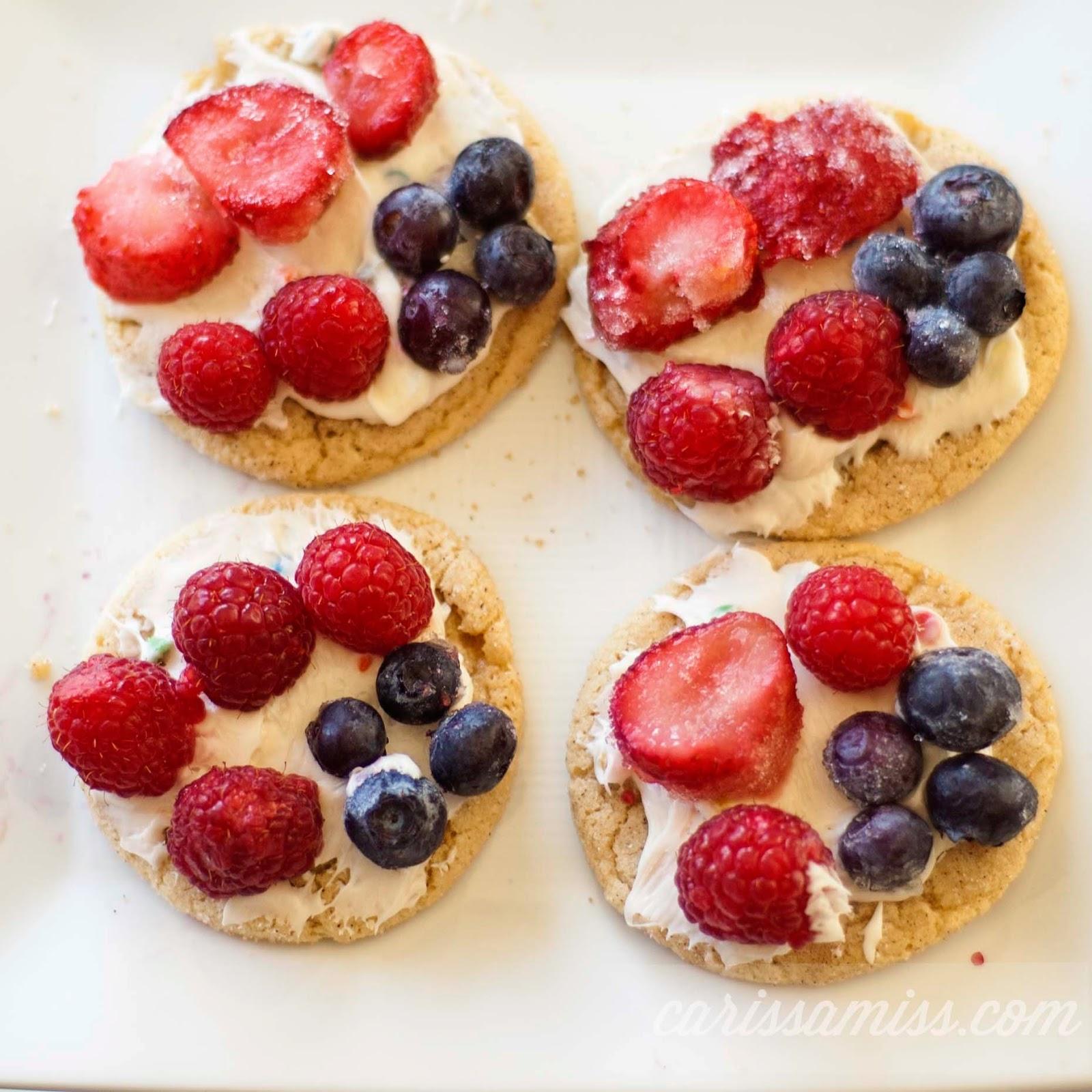 Carissa Miss: Patriotic Cookies