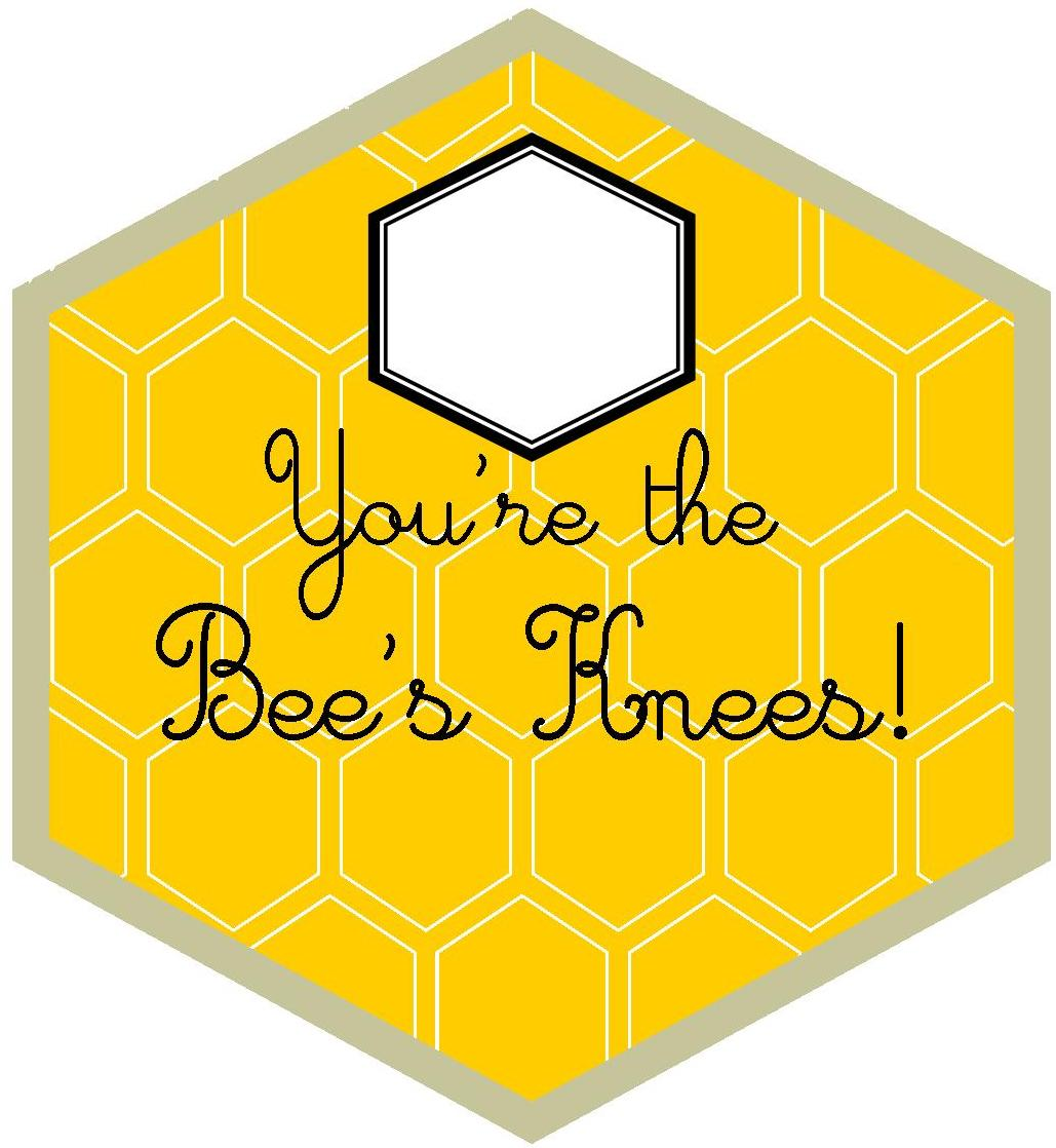 Valentine's Day Cards That are the Bee's Knees | Cute ...  |The Bees Knees Valentine