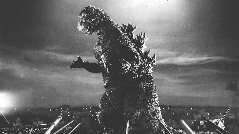 scene from Gojira 1954