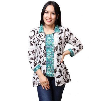 Model Baju Batik Kantor Modis