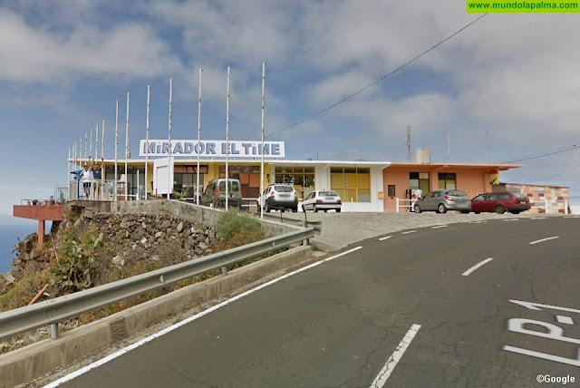 El PP de Tijarafe pide medidas de seguridad en el mirador del Time