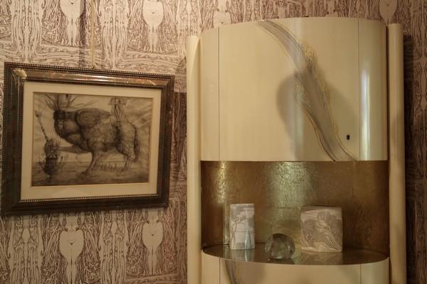 vienna vienne otto wagner villa ernst fuchs museum hütteldorf penzing salle à manger dining room