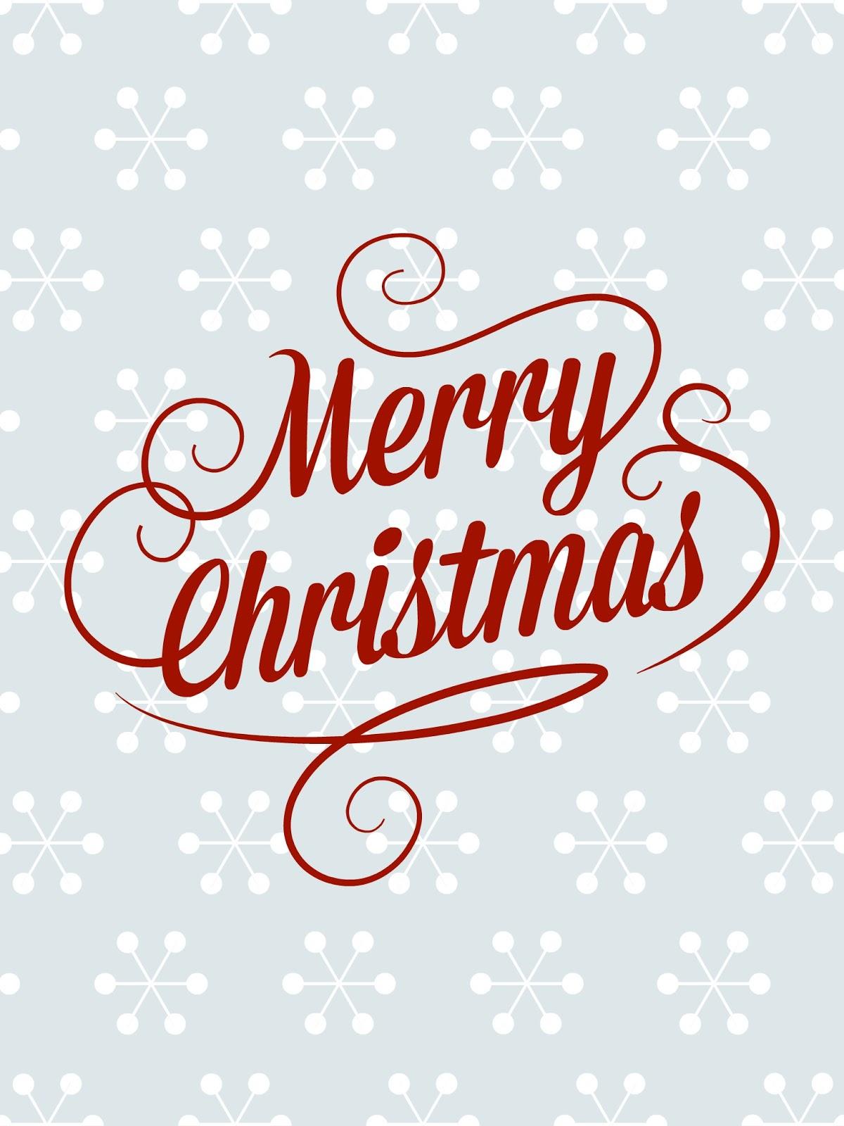 Free Christmas Printable: Peachy Keen: FREE Christmas Printables