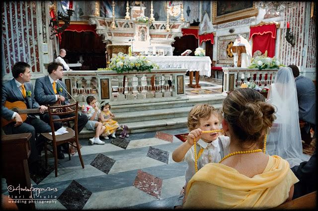 foto matrimonio Camogli Santa Maria Assunta