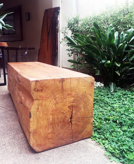 banco madeira sustentavel